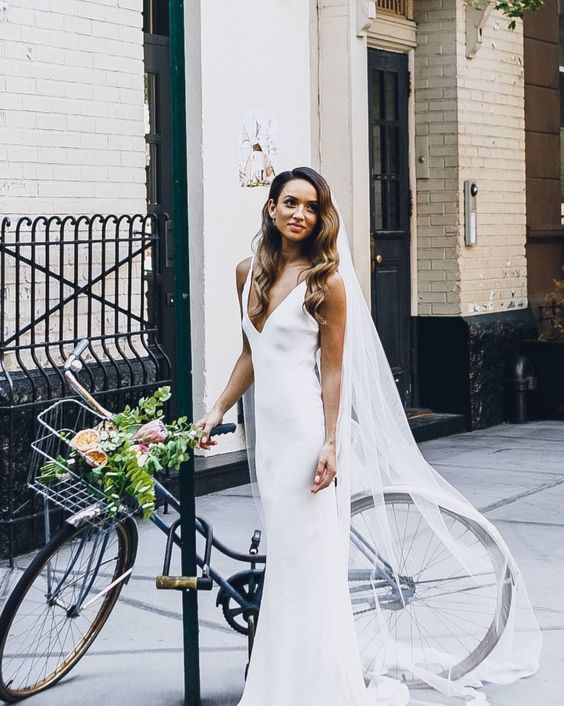 23 Slip Wedding Dresses For An Effortless Look Crazyforus