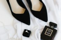 03 black velvet shoes are pure timeless elegance for any bridal look, velvet is number one for the fall and winter