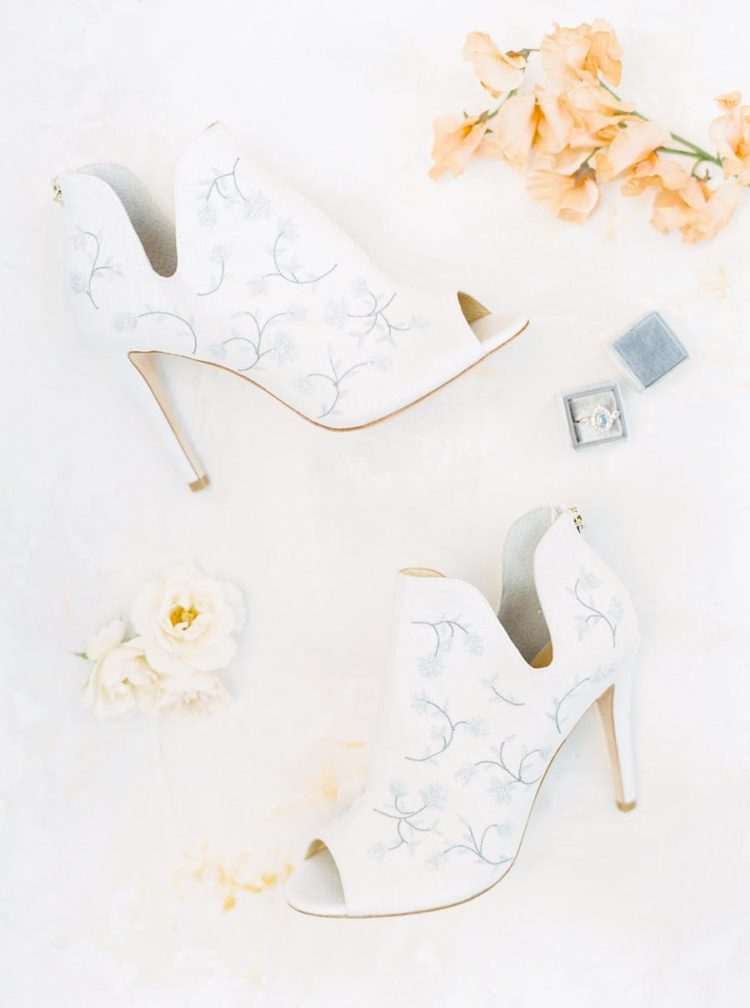 Look at these gorgeous bridal booties, aren't they super chic