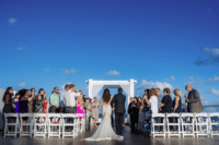 06 The ceremony and reception later took place on the sky deck as aviation is the passion of the couple