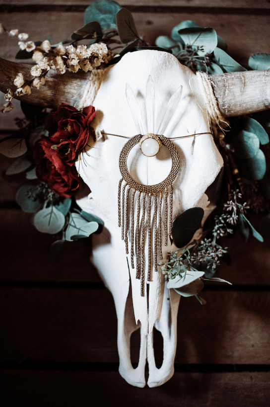 Lush boho elements could be seen everywhere and they create da magical ambience