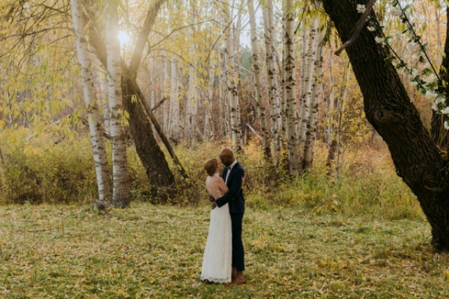 Get inspired and rush to the woods to celebrate your tying the knot