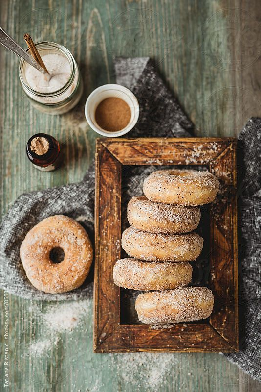donuts with cinnamon and sugar are a great alternative to a usual wedding cake