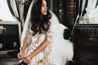 27 statement black leather boots for a unique fall boho bridal look plus they are comfortable for elopements
