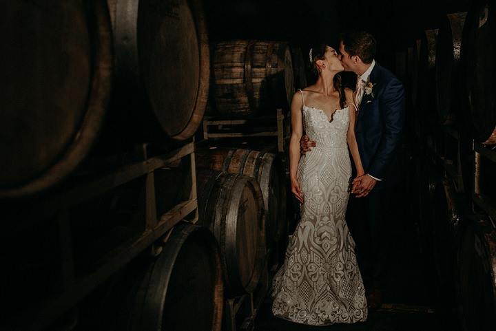 Beer Loving Wedding With A Cozy Feel
