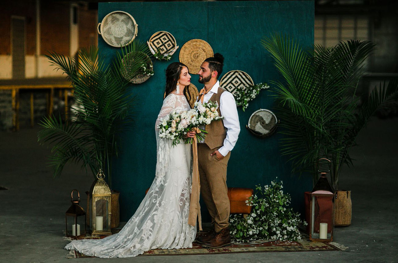 This wedding shoot was inspired by Moroccan street markets and proved you may create your own little Morocco anywhere
