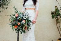 long sleeve bridal separate