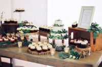 04 style a dessert table and take pics to give them to the person who's gonna do that on your wedding day