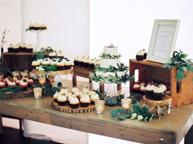 style a dessert table and take pics to give them to the person who's gonna do that on your wedding day