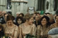gorgeous golden sequin dresses