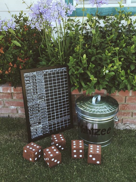 remember all the garden games you liked and rock any of them to entertain your guests