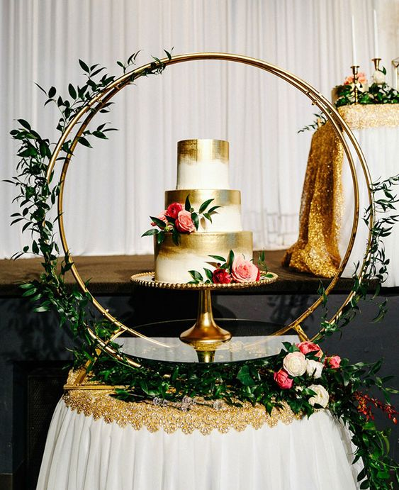 Wedding Cake Table.Picture Of Feel Free To Add Special Decor To Your Cake Table It S A