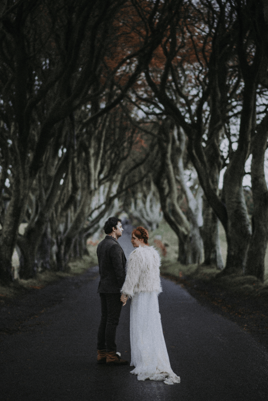 The third part was the photo shoot in Ireland where the couple lives now