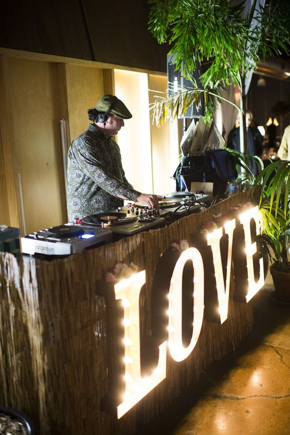 a wedding DJ is a popular entertainment idea for any wedding