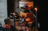 22 highlight your wedding cake placing it on the tallest stand that you have