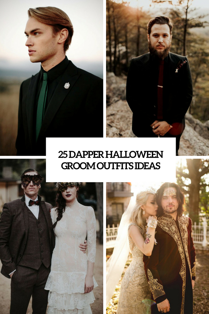 dapper halloween groom outfits ideas cover