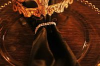 masquerade wedding decor