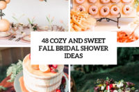48 cozy and sweet fall bridal shower ideas cover