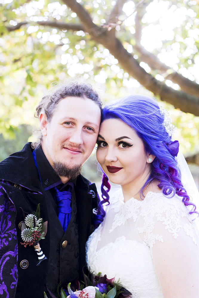 Gothic Fairytale Wedding Inspired By Tim Burton