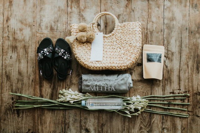 These were wedding welcome bags to make the guests feel more comfortable