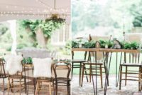 08 Hairpin leg tables and mismatching chairs made the space more informal and relaxed