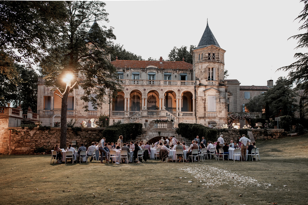 Getting married at a chateau is a great way to feel a princess