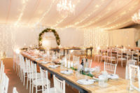 10 There was much light to make the venue more welcoming and neutral shades reminded of winter wonderland