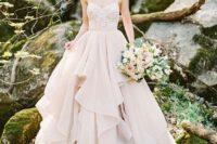 bridal separate in neutral tones