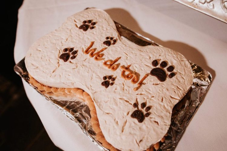 Of course, there was also a special doggie cake