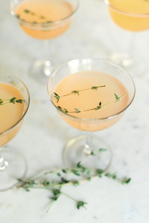 bruleed grapefruit gin fizz is a refreshing idea, especially if you add lime