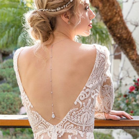 take some jewelry you already own and go to a jeweler to rework it for your bridal look