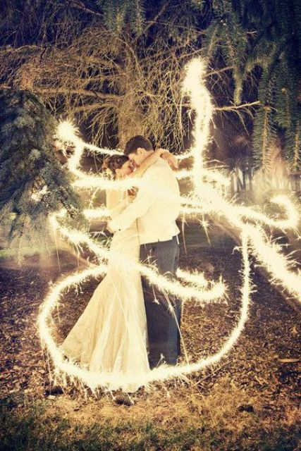 a sparkler send off is always a good idea, just look what wedding photos you get