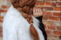 24 a simple loose side braid is all you need to look trendy and you can make it fast in a couple of minutes