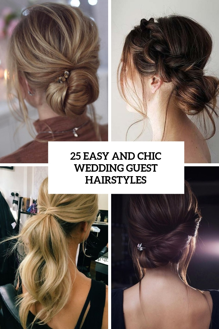 easy and chic wedding guest hairstyles cover
