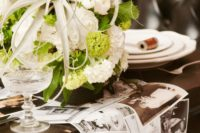 DIY photo wedding table runner