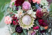 really lush wedding bouquet