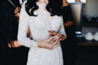 02 prefer a long sleeve wedding dress to feel comfier if it fits your taster and your bridal style