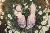cute and fun shoes for a bride