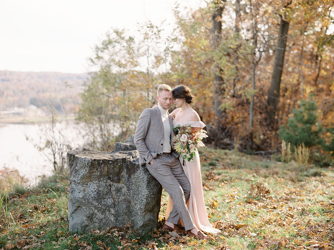 Picture Of This Beautiful Fall Elopement Shoot Is Full Of Gorgeous