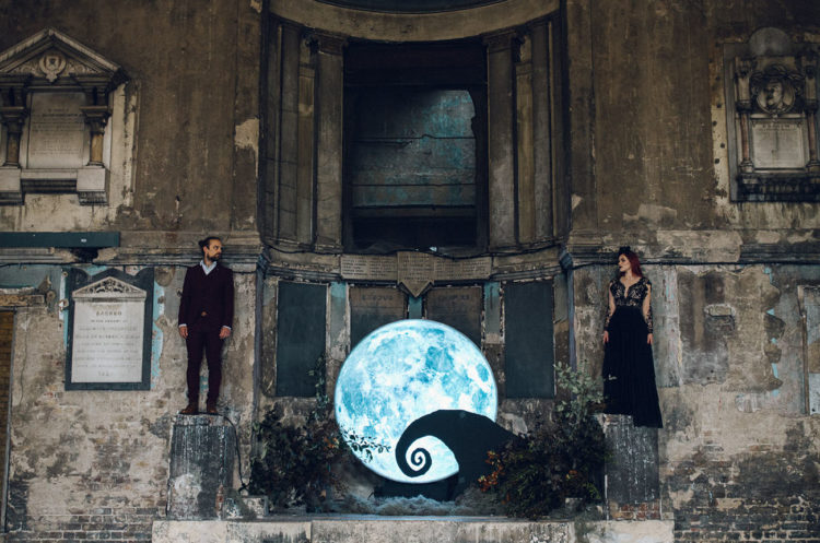 Out-Of-This-World Jack Skellington And Sally Wedding Shoot