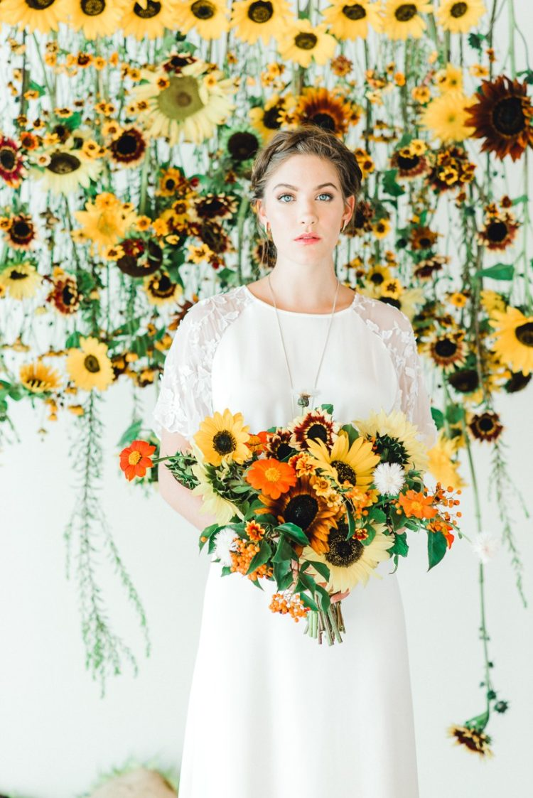 Colorful Folksy Scandinavian Wedding Shoot