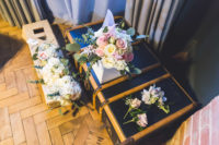 05 The bouquets were romantic, blush and white blooms plus greenery