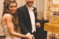 unique wedding look