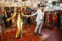 01 This couple wanted a glam and fun wedding in Hackney and they went for many unusual solutions