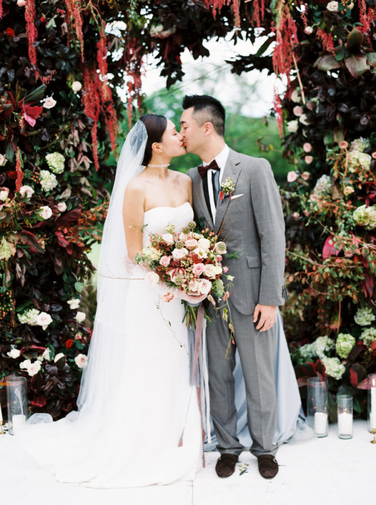 This wedding paired two things that aren't usually paired   Bali and fall