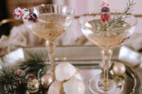 gorgeous cocktails with cute stirrers