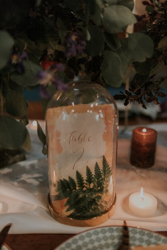 incorporate natural touches into your wedding decor to make it feel as natural as possible