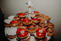 donuts is a great alternative to a wedding cake