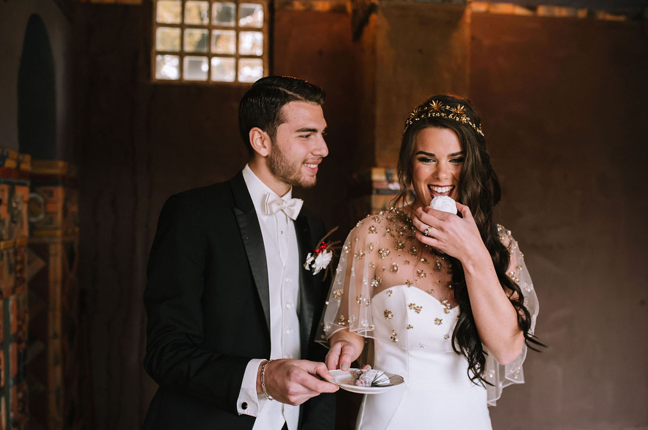 What a wonderful and luxurious wedding shoot