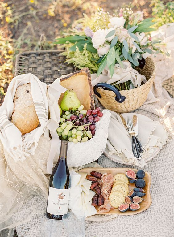 organize a picnic or a cool styled reception for you two, it's really a cool idea